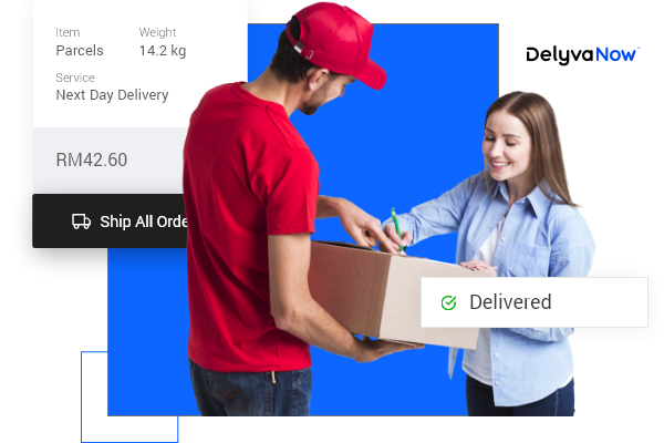 Send your parcel, documents, food or groceries with DelyvaNow. Powered by DelyvaX.